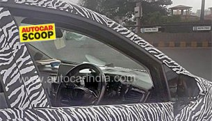 Tata X451's (Maruti Baleno rival) interior spied for the first time