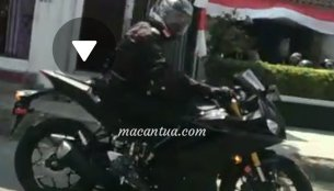 2019 Yamaha R25/2019 Yamaha R3 spied testing for the first time