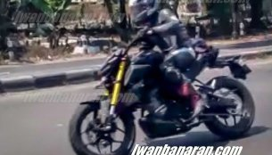 2019 Yamaha Xabre (2019 Yamaha M-Slaz) spied testing in Indonesia - Report