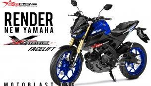 2019 Yamaha Xabre (2019 Yamaha M-Slaz) - Rendering