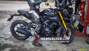 New 2019 Yamaha Xabre 150 (Yamaha M-Slaz) spy images come from Indonesia