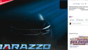 Select dealers offer 'test drive bookings' for the Mahindra Marazzo