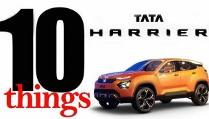 Tata Harrier SUV - 10 Things You Should Know