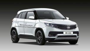 Tata Hornbill micro SUV (Maruti Ignis rival) - IAB Rendering