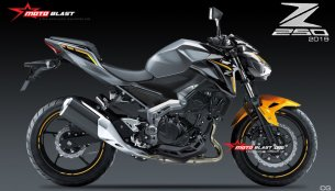 New Kawasaki Z250 digital render by Motoblast looks promising