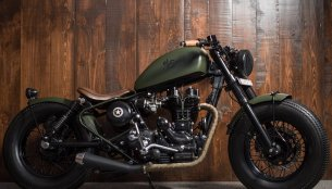 Custom Royal Enfield 'El Soldado' by Bulleteer Customs