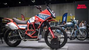 Royal Enfield Himalayan wears Dakar Rally inspired outfit in Thailand