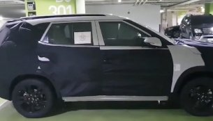 Kia Tusker/Trazor (production Kia SP Concept) spied up close [Video]