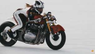 Royal Enfield Continental GT 650 to attempt speed record at Bonneville Salt Flats