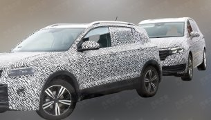 VW T-Cross spied in China ahead of 2018 Paris Motor Show debut