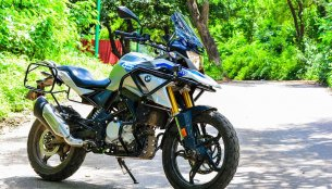 Sahyadri Moto working on a comprehensive crash guard protection for BMW G310 GS