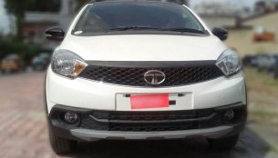 Tata Tiago NRG spied totally undisguised ahead of tomorrow's launch