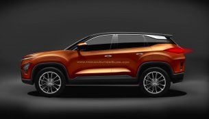Tata Harrier profile - IAB Rendering (updated)