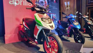 2018 Aprilia SR 150 Race & Aprilia SR 150 Carbon editions launched [Updated]