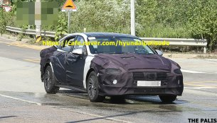 2020 Hyundai Sonata with solar panel roof spied in S. Korea