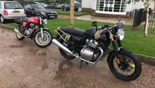Royal Enfield Continental GT 650 spotted with accessories