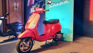 2018 Vespa SXL150 & 2018 Vespa VXL150 launched in India [Updated]