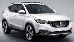 India-bound MG's pure electric ZS SUV leaked in production form