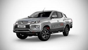 2019 Mitsubishi Triton (facelift) - IAB Rendering
