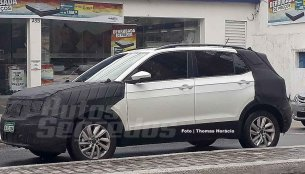 Brazilian-spec VW T-Cross spied ahead of Sao Paulo Motor Show debut