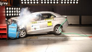 Ford Ka Sedan (Brazilian Ford Aspire) gets 3-star Latin NCAP safety rating [Video]