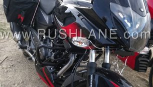 Here's the first glimpse of 2019 Bajaj Pulsar 220F ABS