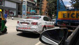 2019 Toyota Camry spotted again in India