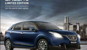 Maruti Baleno Limited Edition revealed, expected to cost INR 30,000 more