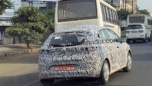 Tata Aquilla (Maruti Baleno rival) spied with new wheels, launch in H2 2019