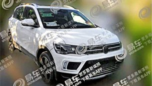 India-bound VW T-Cross spied in long wheelbase spec