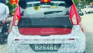 2019 Proton Iriz (facelift) spied on test