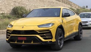 Lamborghini Urus spotted on Indian roads as deliveries commence