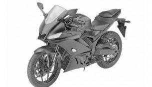 2019 Yamaha YZF-R3 revealed through leaked patent images