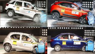 Safest cars in India under INR 10 lakh as rated by Global NCAP