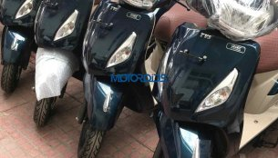 TVS Jupiter Grande Edition spotted ahead of its festive season launch