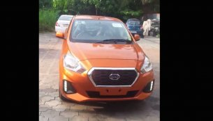 2018 Datsun GO spied completely undisguised in India [Video]