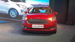2018 Ford Aspire (facelift) launched at INR 5.55 lakhs
