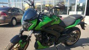 Kawasaki-inspired Bajaj Dominar 400 special edition - In 5 Live Images