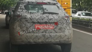 Nissan Kicks variants spotted testing ahead of 18 October premiere
