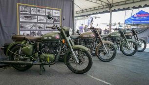 Royal Enfield Classic 500 Pegasus delivered to customers in the Philippines