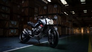 Honda Neo Sports Café 650 Retro-Modern Concept revealed at Paris Motor Show