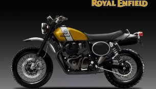 Royal Enfield Scrambler 650 Sport and Classic imagined - Rendering
