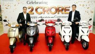 Honda Activa crosses 2 crore unit sales in India