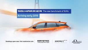 Tata Harrier's OTR prices to range from INR 16-21 lakh