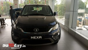 Tata Hexa XM+ launched, priced at INR 15.27 lakh [Update]