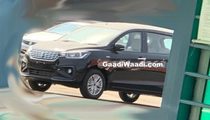 2018 Maruti Ertiga spied sans camouflage ahead of 21 November launch
