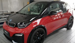 BMW i3s EV snapped in Kolkata