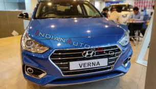 Hyundai Verna Anniversary Edition - In 19 Live images