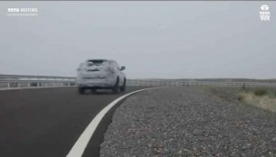 Tata Harrier tested at National Automotive Test Tracks (NATRAX) [Video]