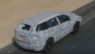 Tata Harrier tested at National Automotive Test Tracks (NATRAX) [Video] [Update]